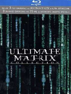Matrix - Ultimate Collection (Ltd) (4 Blu-Ray+3 Dvd) für 13€ @Amazon.it