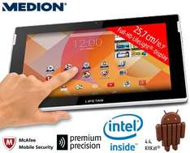 "[Aldi Süd] 10,1"" Tablet Medion Lifetab S10346 - FullHD, IPS, Intel Atom Z3735F, 2GB Ram, 32 GB Speicher, GPS, Infrarot, 2 Kameras, Android 4.4 ab dem 4.12"