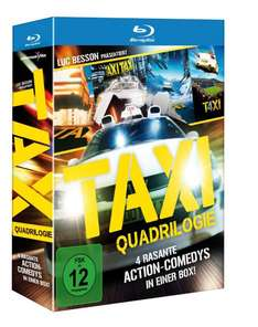 [Media Dealer][Blu-Ray] Taxi - Qua­dri­lo­gie/1-4 für 13€ +Vsk