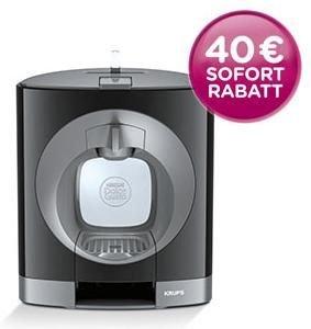[FAMILA NORDWEST] Krups Nescafé Dolce Gusto Oblo Kapsel-Kaffeemaschine KP1108 inkl. 6 Kapseln (Angebot + Coupon | Idealo: 46,89€)