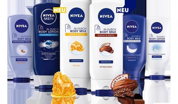 @ Thomas Phillips NIVEA In Dusch Body Lotion, Body- oder Softmilk 400g für 1,98