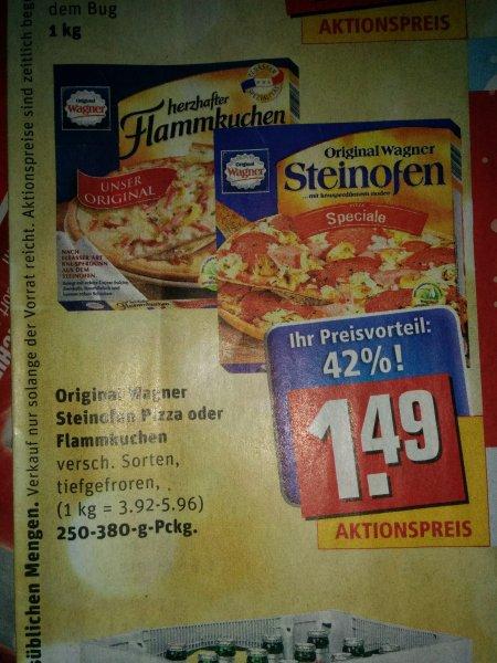 [REWE] Wagner Steinofen Pizza / Flammkuchen 1.49€