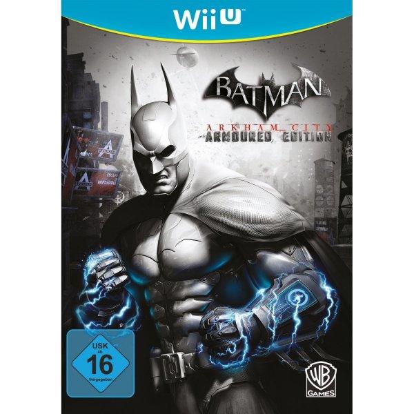 Batman: Arkham City - Armoured Edition Wii U für 10,97€ @amazon.de Cyber Monday Deals