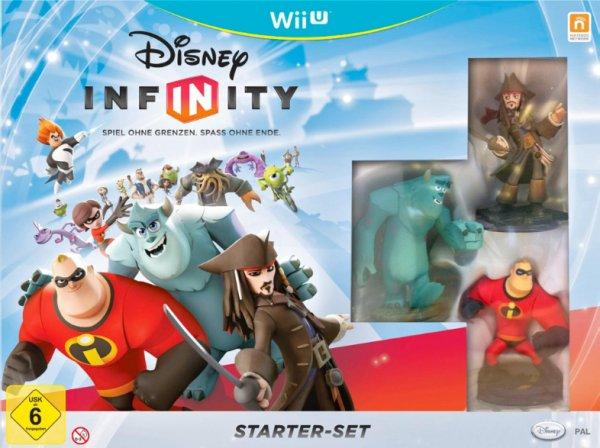 [conrad] Disney Infinity - Starter-Set (Wii U) für 29,47€
