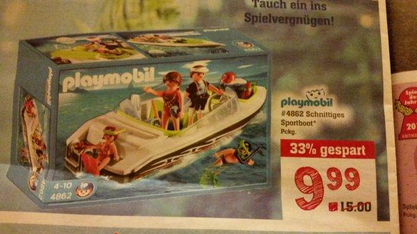 Playmobil 4862 schnittige Sportboot lokal Rewe Egelsbach