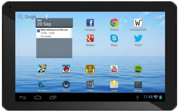 "Denver TAD-70112, 17,8cm (7"") 8GB, 512MB, 1,3 GHz, Tablet (B-Ware) @ smallbug.de zu 39,88 Euro inkl. Versand"