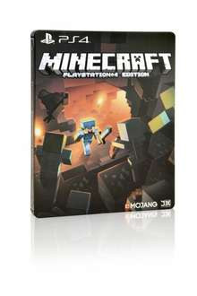 [Cyber Monday] PS4 Minecraft Steelbook Edition für 24,97€