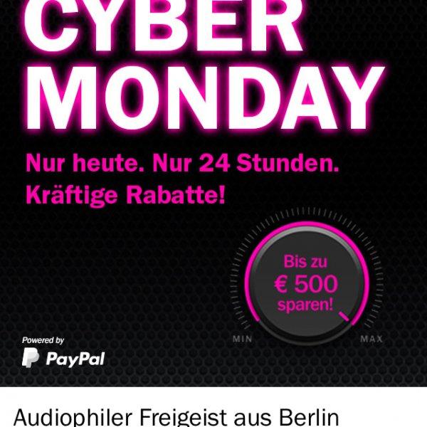 Teufel Cybermonday (schon Heute!) z.B. Raumfeld L 999€ !aktuelle Version! Statt 1499€