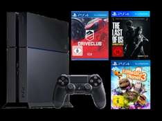 PS4 500 GB + Little Big Planet 3 + DriveClub + The Last of Us Remastered 449 € @ Media Markt Online + Offline