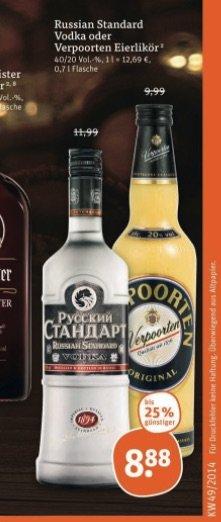 [Tegut] Russian Standard für 8,88€