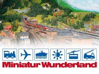 Eintrittskarten für Miniatur Wunderland in Hamburg