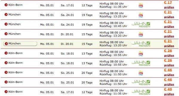 Charterflüge auf die Kanaren (Gran Canaria) für 17€ (bei Buchung für 4 / 27€ bei 2 Personen)