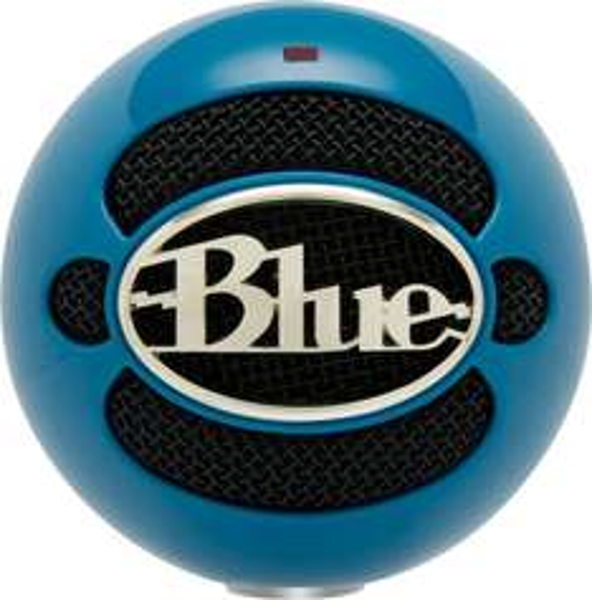 Blue Microphones Snowball USB Kondensatormikrofon inkl. Tischstativ neon blau