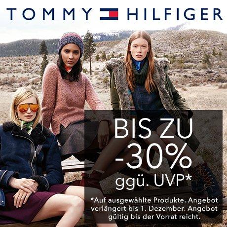 Tommy Hilfiger -30% Cyber Monday