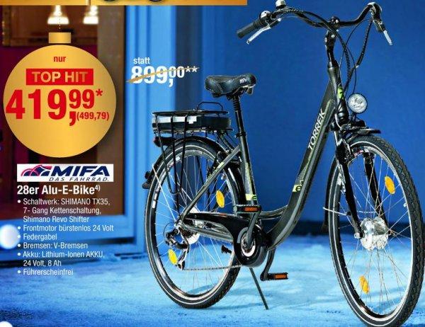 """Mifa 28"""" Elektro-Fahrrad für 499 € @ Metro"""