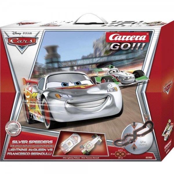 [conrad.de] Carrera 20062302 GO!!! Cars Silver Speeders Start-Set / Nur Heute!