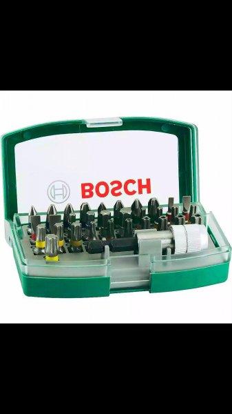 BOSCH Promoline 32-tlg. Schrauberbit-Set für Bohrmaschine Akkuschrauber NEU @ebay