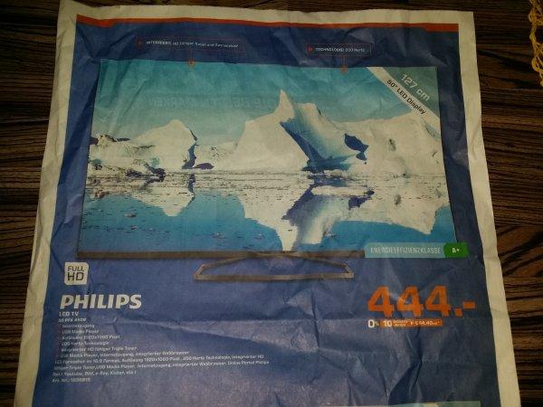 Philips 50PFK4509 für 444 € [Saturn Pforzheim]