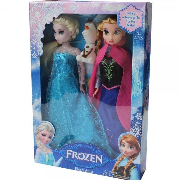 Die Eiskönigin und ihre Schwester als Barbie ähnliche Puppen für unsere kleinen zu Weihnachten
