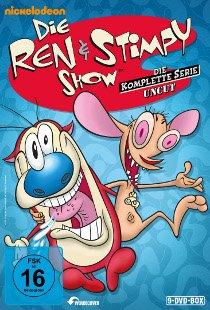Die Ren & Stimpy Show (UNCUT) oder Rockos modernes Leben - Komplette Serie auf DVD für 40 €