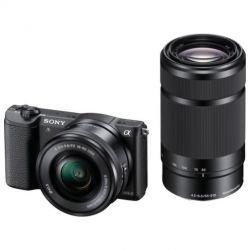 Sony Alpha 5100 Kit 16-50 mm + 55-210 mm für 585,45€ @Amazon.fr