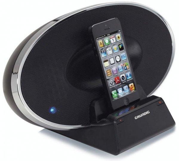 """GRUNDIG Docking-Station (Idealo 89,40 Euro) """"Soundbar BlueBeat GSD 320"""" [Bluetooth-Lautsprecher mit iPhone und iPod-Docking-Station] [Qipu & Brands4Friends Account benötigt] *Alternative GSD 300 sogar nur 44,80 Euro (Idealo 88,17 Euro)"""