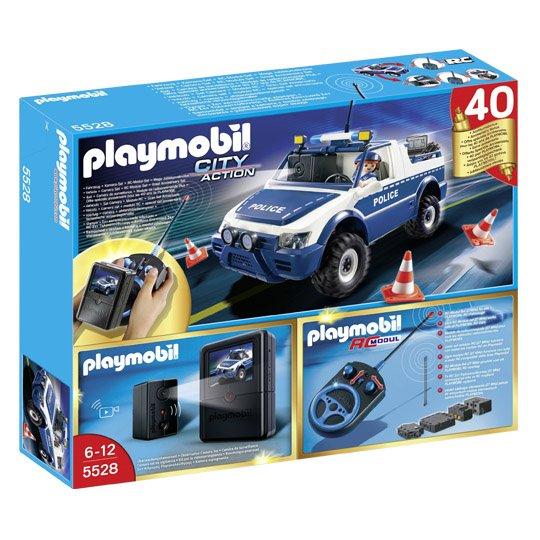 Playmobil RC-Polizeiauto mit Kamera-Set für 50,96 EUR bei Real online