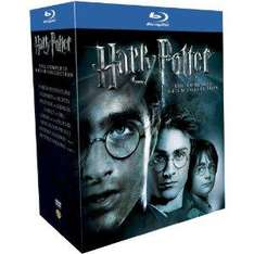 Harry Potter - The Complete 8-Film Collection 2011 [11 x Blu-ray] [Region Free] !Pre-Order! für ca. 39.44€ @ amazon.UK