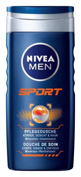 ?Blitzangebot bei Amazon?Nivea Men Sport Pflegedusche, 4er Pack 4 x 250 ml für 3,78 Euro