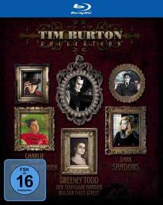 Tim Burton Blu-Ray Collection @Amazon Blitzangebote [9,97 €]
