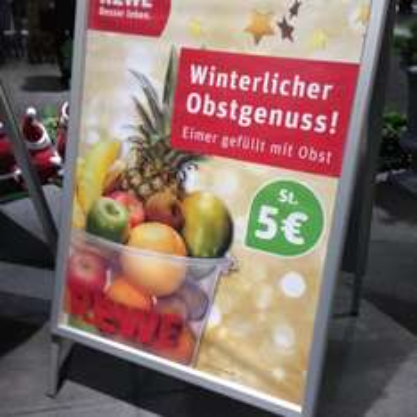 [Lokal Rostock] REWE Eimer Obst für 5€