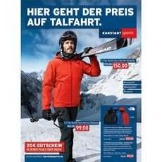 The North Face Herren Skijacke M Descendit - Karstadt.de - mit Gutscheincode 127,50 €