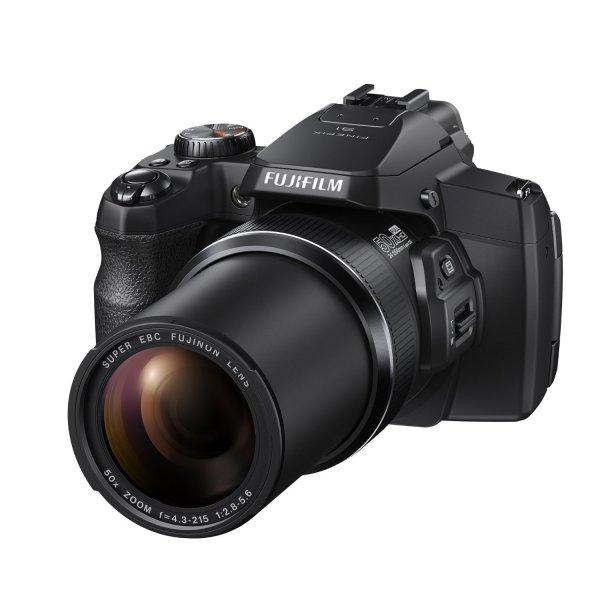 Fujifilm FinePix S1 Kompaktkamera (Full HD, 16 Megapixel, 7,6 cm (3 Zoll) Display, 50-fach opt. Zoom, WiFi) schwarz für 266€ @Amazon.fr