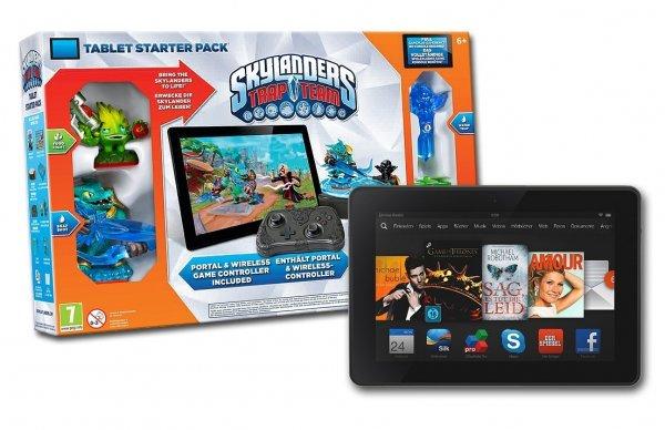 Kindle Fire HDX 7 inkl. Skylanders Trap Team - Tablet Starter Pack für 149€ statt 229€ Versand @ Amazon