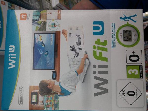 (Lokal MediaMarkt Schweinfurt) Wii Fit U + Wii Fit Meter für 15 Euro