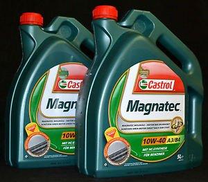 Magnatec 10W40 Castrol Motoröl 2x5l ~50€, da Versand kostenlos