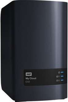 Western Digital My Cloud EX2 4TB (2x2TB) für 279€ @ Cyberport