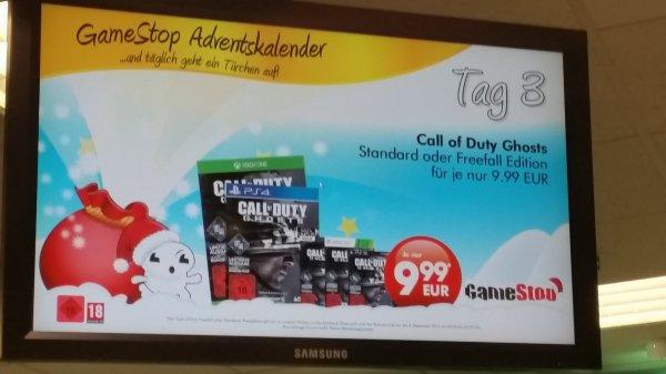 GameStop Ergänzung: CoD Ghosts Normal UND Freefall Edition jeweils 10€