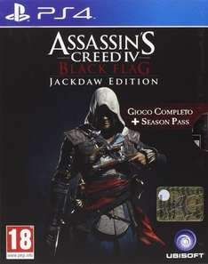 amazon.it - Assassin's Creed IV - Jackdaw Edition (Day-One) PS4/ XBOX One/ PC