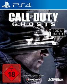 Call of Duty: Ghosts (alle Plattformen) für 9,99€ + 5€ VSK @Amazon