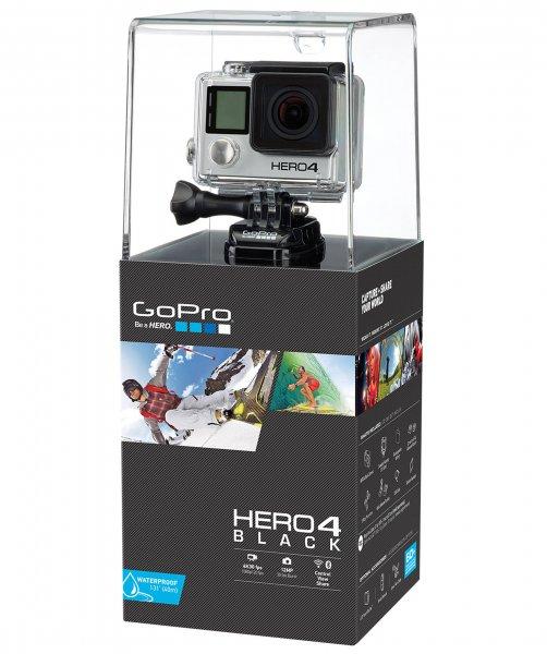 GoPro Hero 4 Black Adventure mit Gutschein 40€ und über QIPU 10%noch dazu!