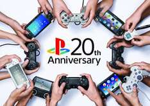 20. Geburtstag PlayStation Design - Kostenlos