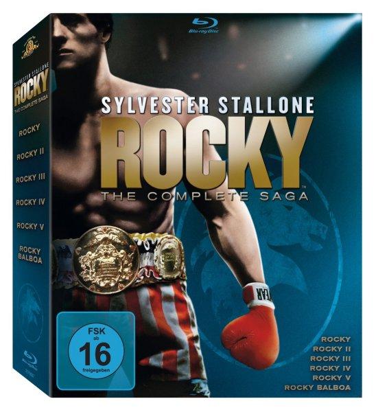 Rocky - The Complete Saga (Teil 1-6) [Blu-ray] für 19,99 € > [amazon.de] > Prime