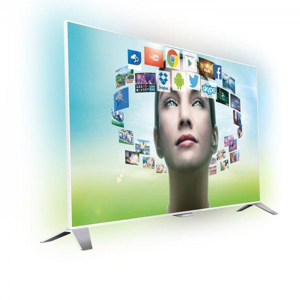 """Philips 55PFS8209/12 - 55"""" Android TV mit 4 seitigem Ambilight für 1474,- durch Cashback"""