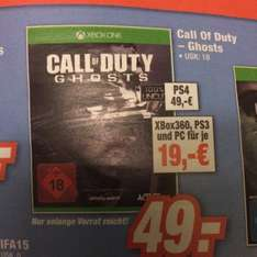 Call of Duty Ghost Xbox 360 / Pc / ps3 (Lokal)