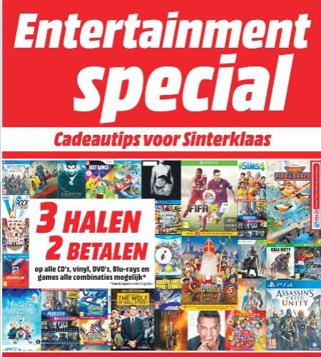[Online?/Offline] 3 für 2 Aktion bei Media Markt in den Niederlanden