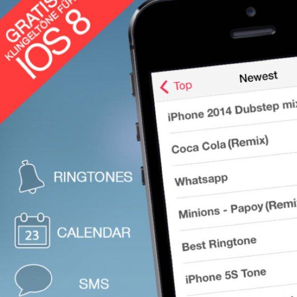Klingeltöne für iPhone iOS 8 NEU Ringtones