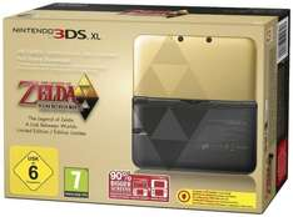 WIEDER DA Nintendo 3DS XL inkl. Zelda (DLC) Limited Edition für 199 € @ eBay