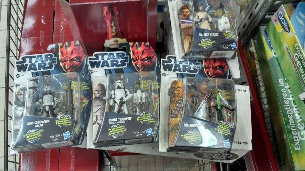 [Kaufland] HASBRO Star Wars - Clone Wars - Figuren