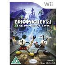 Disney Epic Mickey 1/2 - The Power of Two (Wii) inkl. Versand jeweils für 11,41€ (zusammen 20,26€)@thegamecollection